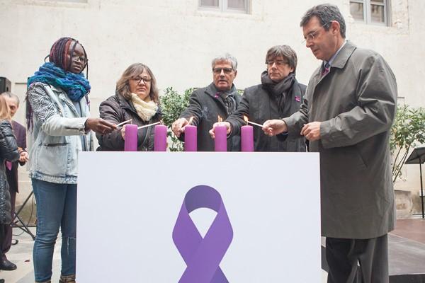 La Diputació de Girona celebra el Dia Internacional contra la Violència de Gènere