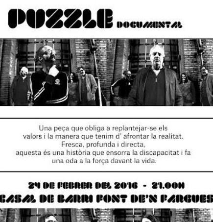 cartell documental puzzle