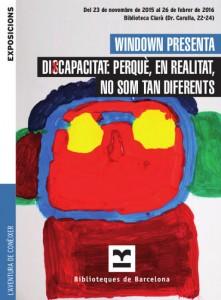 cartell exposició discapacitat