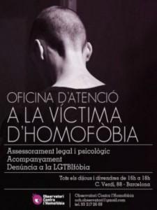cartell lluita contra l'homofòbia