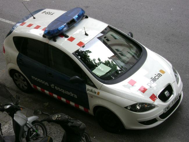 cotxe mossos d'esquadra