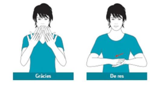 Cultura commemora el Dia de les persones sordes amb 300 nous termes en línia de la LSC