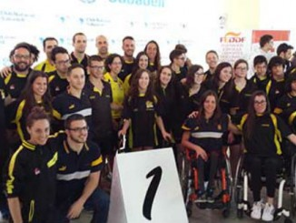 selecció catalana de natació adaptada