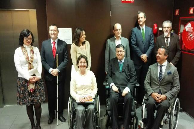 Presentació de l'estudi 'Les TIC al servei de les persones amb discapacitat' a Madrid