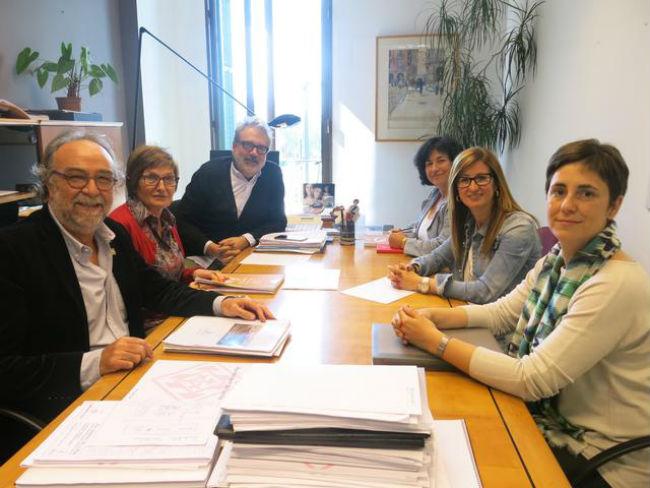 reunió federació ALLEM i ajuntament Lleida