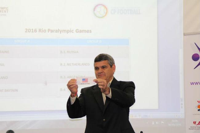 Es decideixen els Grups de competició de Futbol 7 dels Jocs de Rio