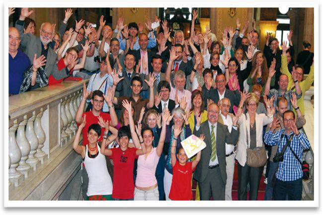 Tot a punt per la celebració del Dia Internacional de les Persones Sordes de Catalunya