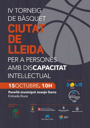 cartell-torneig-basquet-ciutat-lleida-discapacitat-intellectual