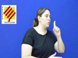 partits polítics oficialització llengua signes catalana
