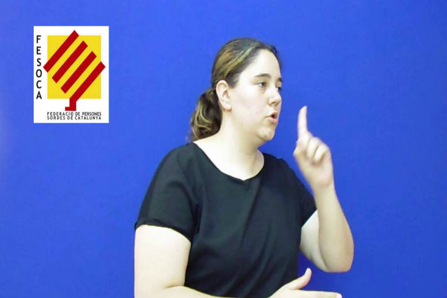 FESOCA exigeix al Govern intèrprets per alumnes sords a la totalitat de les hores lectives