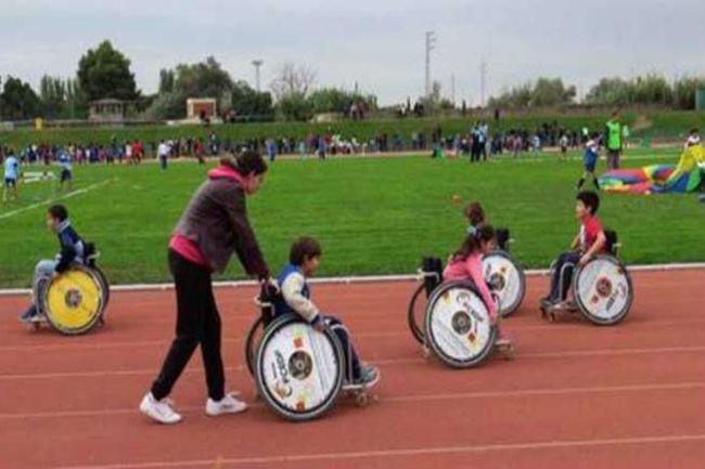 La FCEDF en la Jornada de miniatletisme de Lleida per promocionar l'esport adaptat