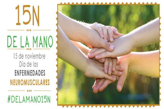 ASEM llança la campanya #DELAMANO15N amb motiu del Dia Nacional de les Malalties Neuromusculars