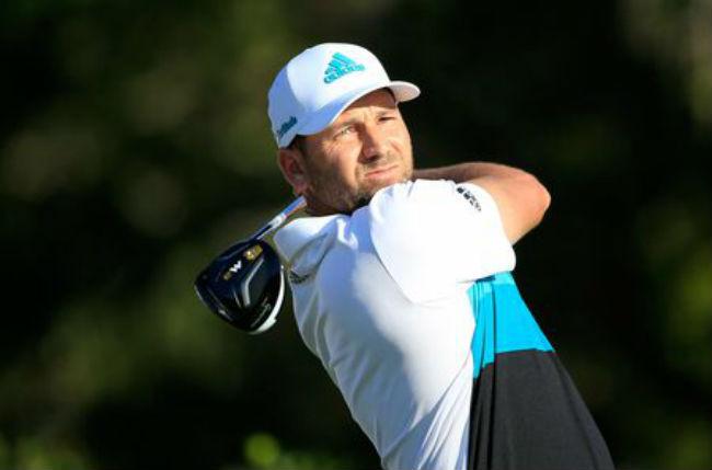 El golfista Sergio García dóna una classe a 15 alumnes amb discapacitat intel·lectual