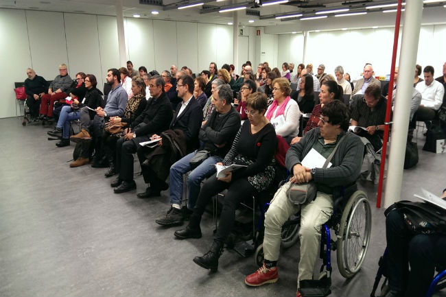 èxit presentació-llibre-innovacio-discapacitat-uned-girona