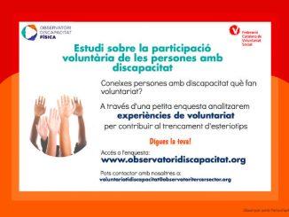 recerca voluntaris amb discapacitat odf