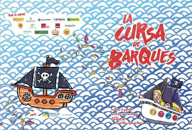 Presentació de 'La cursa de barques', un conte accessible que promou la integració social dels infants