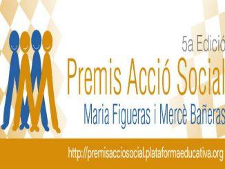 premis acció social plataforma educativa