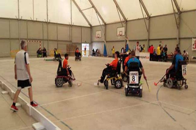 Arrenca una nova edició de la Lliga Catalana d'hoquei en cadira de rodes