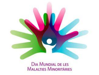 logo dia mundial malalties minoritàries
