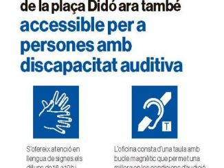 bucle magnètic discapacitat auditiva terrassa