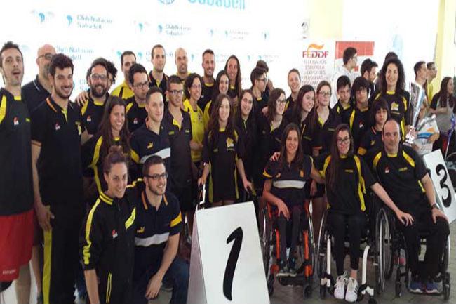 delegació Catalunya nedadors campionat natació ccaa