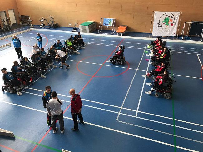 Victòria clara de l'ADB Barberà a la 2a jornada de la Lliga Catalana d'Hoquei en cadira de rodes