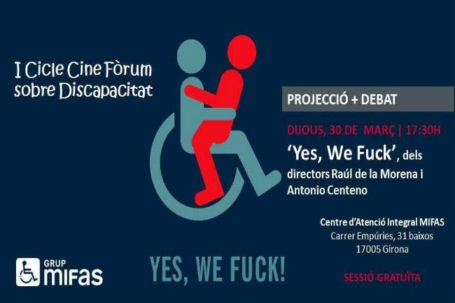 yes-we-fuck segona projecció cine fòrum grup mifas