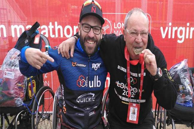 rafa botello jordi madera marató londres campionat món