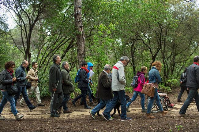 La Xarxa de Parcs Naturals inicia les rutes teatralitzades inclusives per a persones amb discapacitat