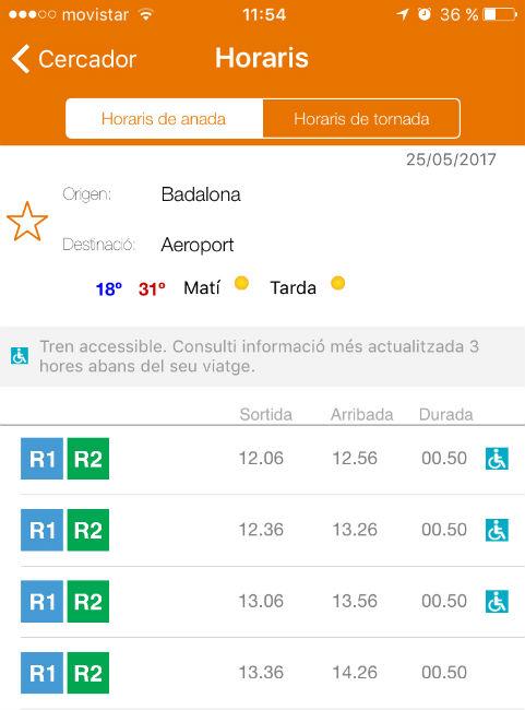 app rodalies consulta accessibilitat trens usuaris