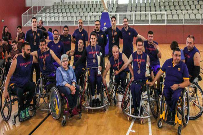 bsr vistazul final four ascens divisió honor bàsquet cadira rodes