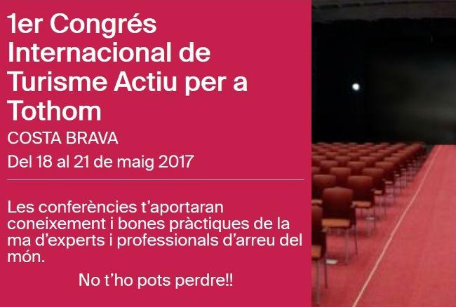 conferència 1er congrés turisme per a tothom accessible