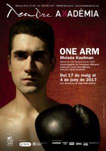 one arm història excampió boxa amputat teatre akadèmia