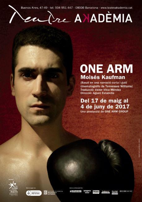 one arm excampió boxa amputat teatre akadèmia