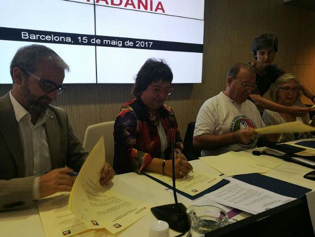 Acord per fer possible la tramitació al Parlament de la llei de Renda Garantida de Ciutadania