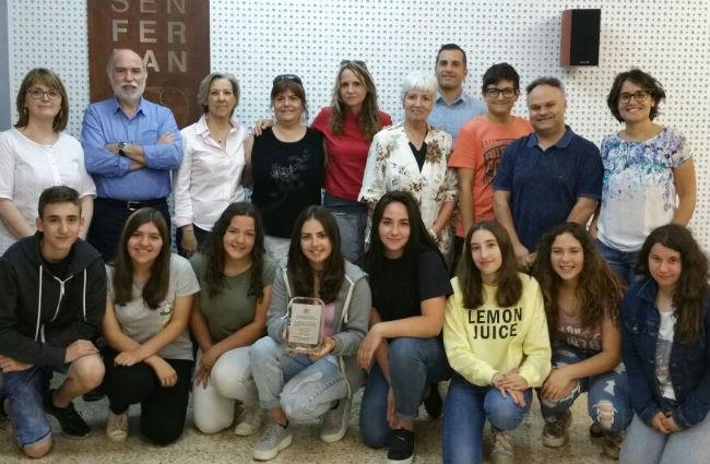 La FAFAC visita a Solsona els alumnes creadors de la cançó de lluita contra l'Alzheimer