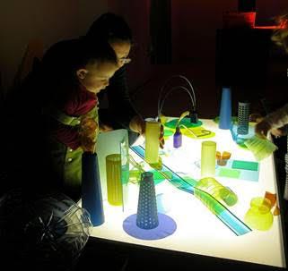 taller taula llums educació especial