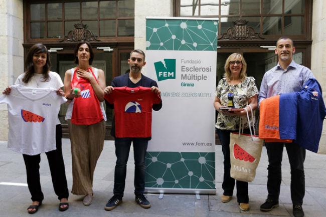 """Girona estarà un any més al costat de la campanya """"Mulla't"""" per l'Esclerosi Múltiple"""