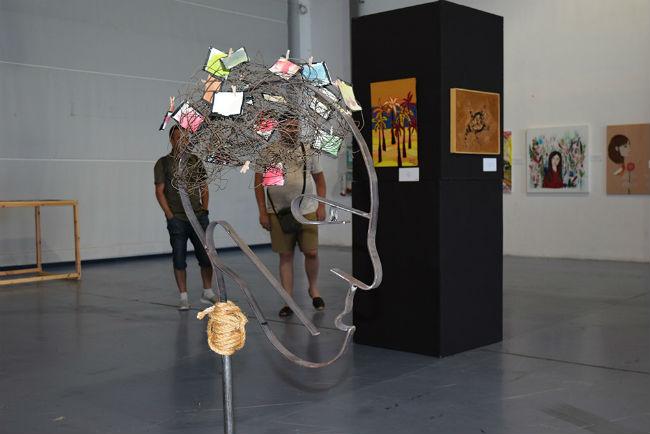 'Parelles Artístiques', una exposició que mostra les capacitats creatives de la salut mental