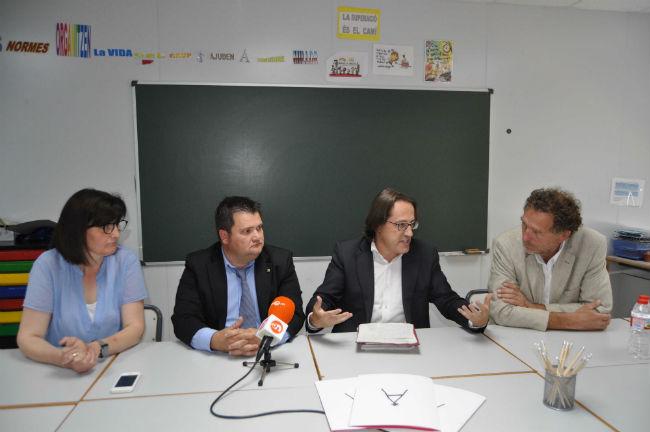 """Antoni Llobet: """"Amb els IFE es garanteixen estudis postobligatoris per a tot l'alumnat"""""""