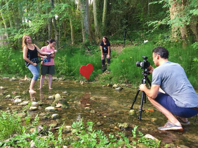 L'onzè calendari Mas Albornà comença les primeres sessions fotogràfiques amb el Penedès al cor