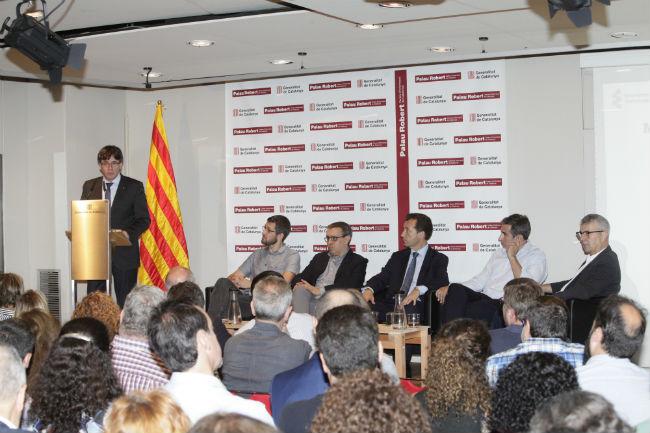 Més de 140 persones a la presentació pública de l'entitat representativa de l'Economia Social a Catalunya