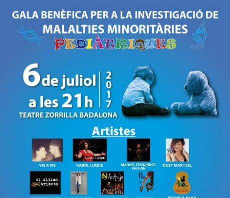 Gala benèfica a Badalona per a la investigació de malalties minoritàries pediàtriques