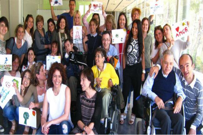 Persones amb paràlisi cerebral imparteixen formació de motivació i valors per a empreses