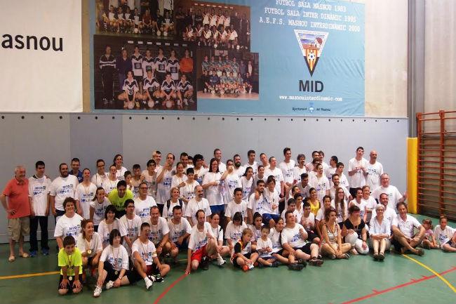 Més de 50 jugadors amb síndrome de Down a la 6a Jornada de Futbol Solidari del Masnou