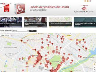 lleida aplicació móbil accessibilitat locals