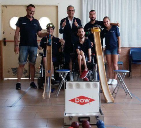 Els tarragonins Ruben Coch i Adrià Abadia sisens al campionat estatal de Boccia en la categoria BC3