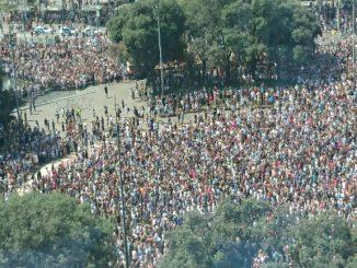 concentració barcelona atemptats Barcelona