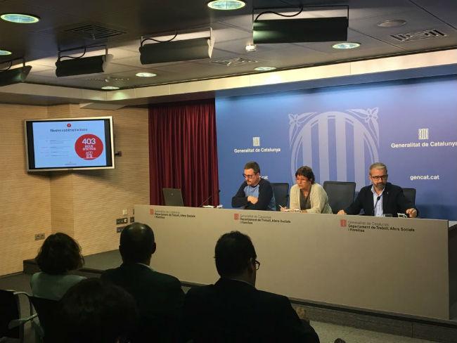 El Govern presenta el procés d'implementació de la Renda Garantida de ciutadana