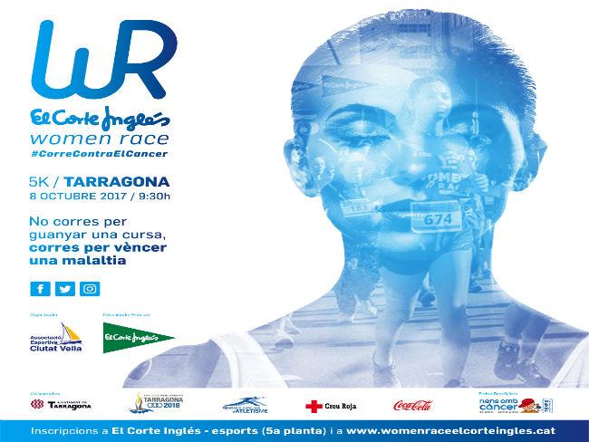 cartell women race corte inglès tarragona malalties oncològiques